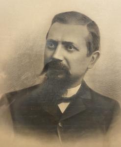 19th-century photo of Jacob Roth