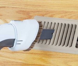 vacuuming vents, clearing vents helps save energy