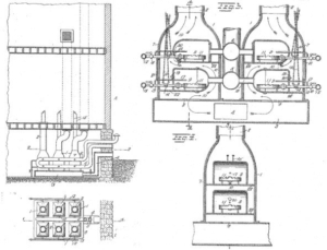 the original 1919 patent of the gas furnace